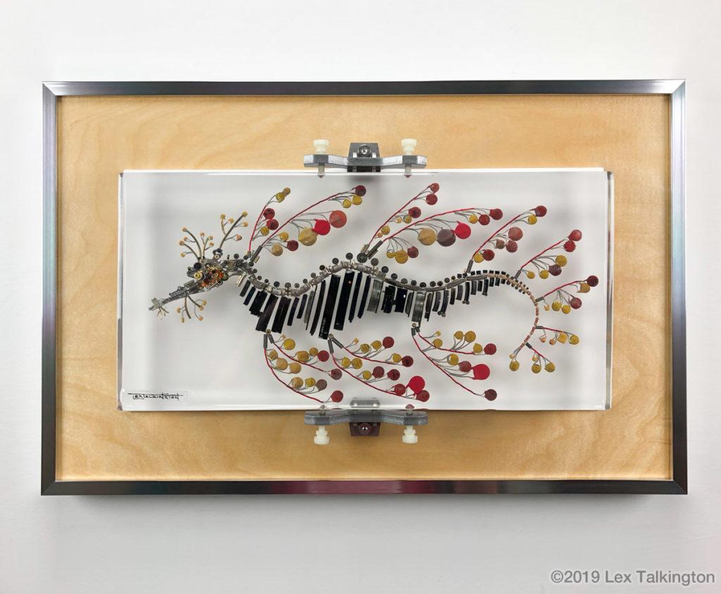 Lex Talkingotn seadragon sculpture