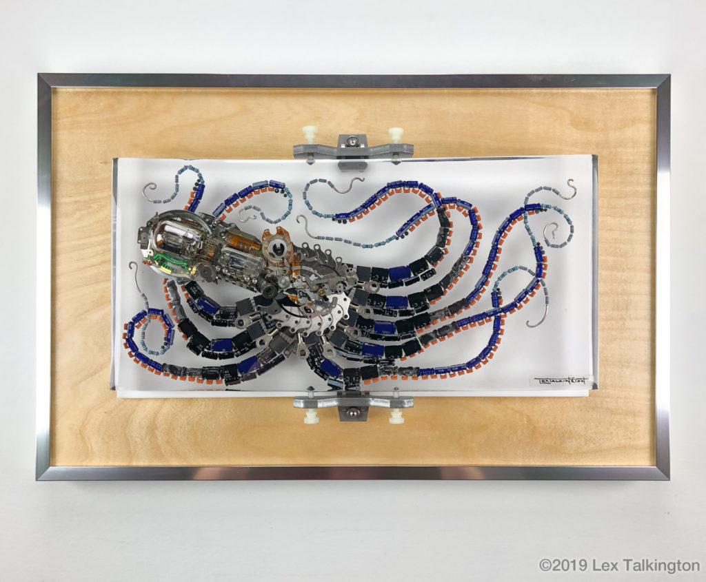Lex Talkington octopus scupture