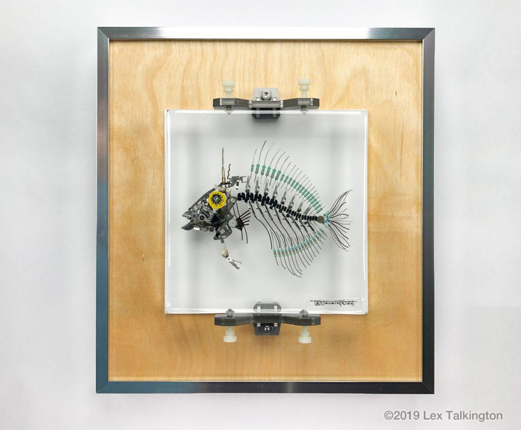 Lex Talkington triggerfish sculpture