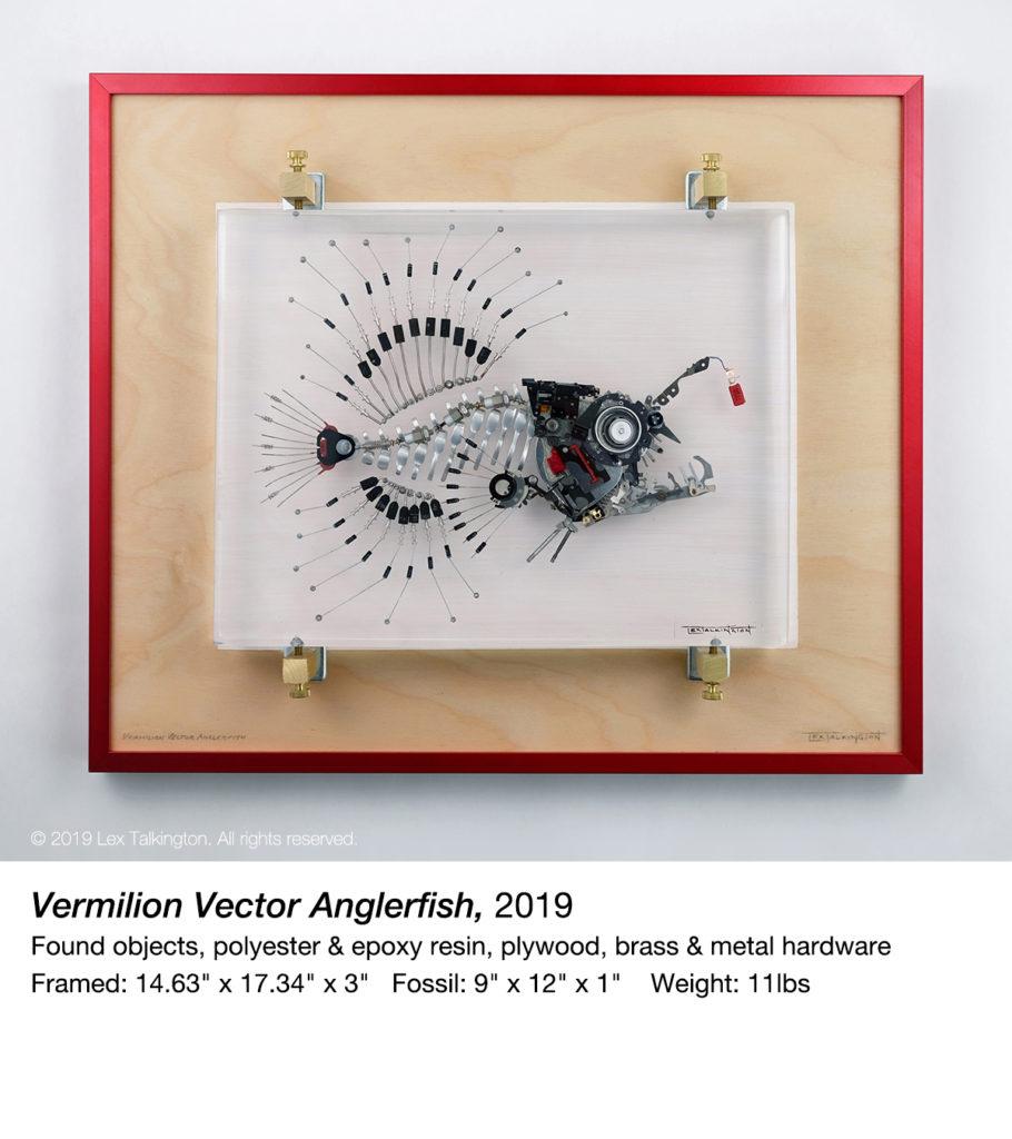 lex talkington anglerfish sculpture