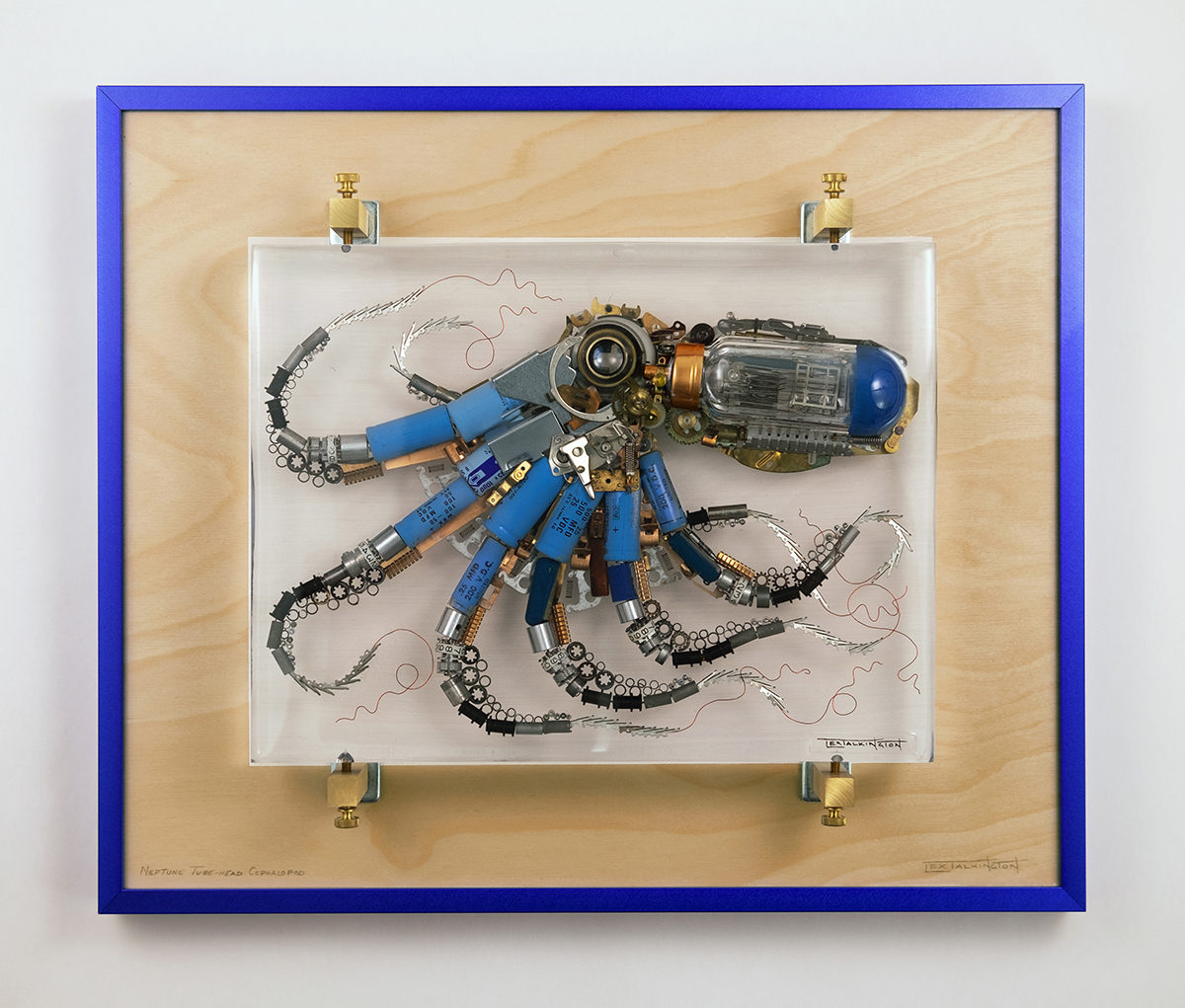 lex talkington octopus sculpture