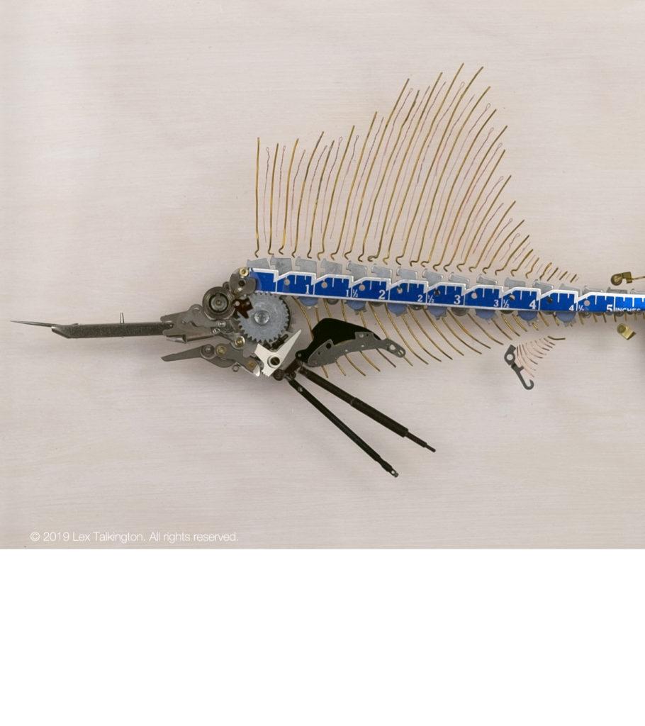 lex talkington sailfish sculpture
