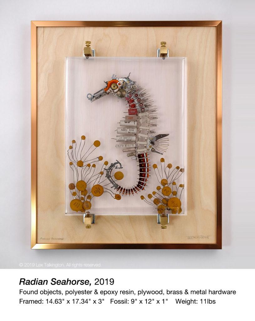 lex talkington seahorse sculpture