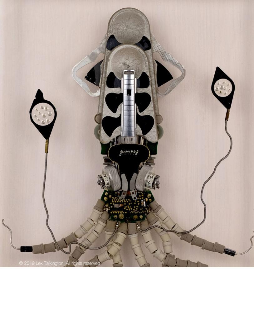 lex talkington squid sculpture