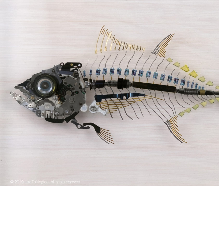 lex talkington tuna sculpture